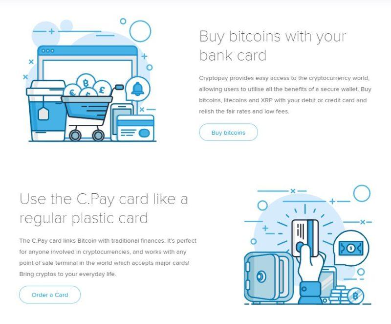 Cryptopay options