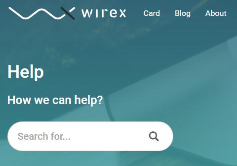 Wirex Karte.Wirex Com Debit Card Review