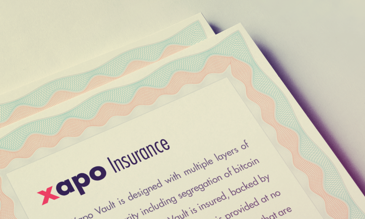 Xapo insurance