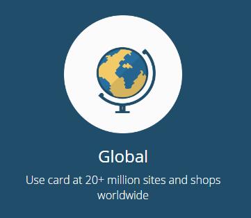 Spectrocoin bitcoin card globally accepted